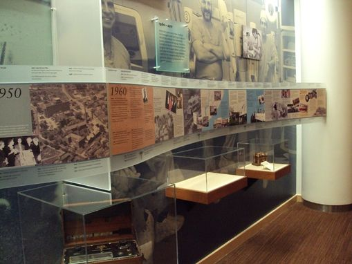 Custom Made Staten Island University Timeline Of Nursing Exhibit