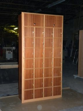 Custom Made Cigar Lockers