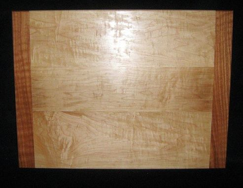 Custom Made Custom Maple And Oak Pull-Out Cutting Board