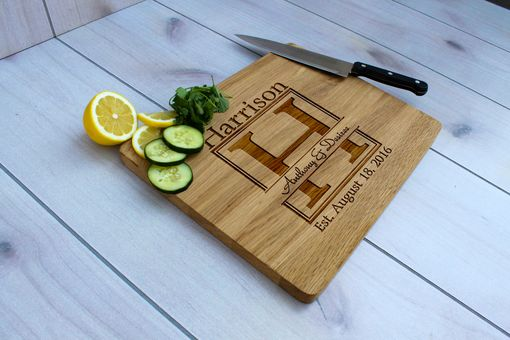Custom Made Personalized Cutting Board, Engraved Cutting Board, Custom Wedding Gift – Cb-Wo-Anthony&Desiree