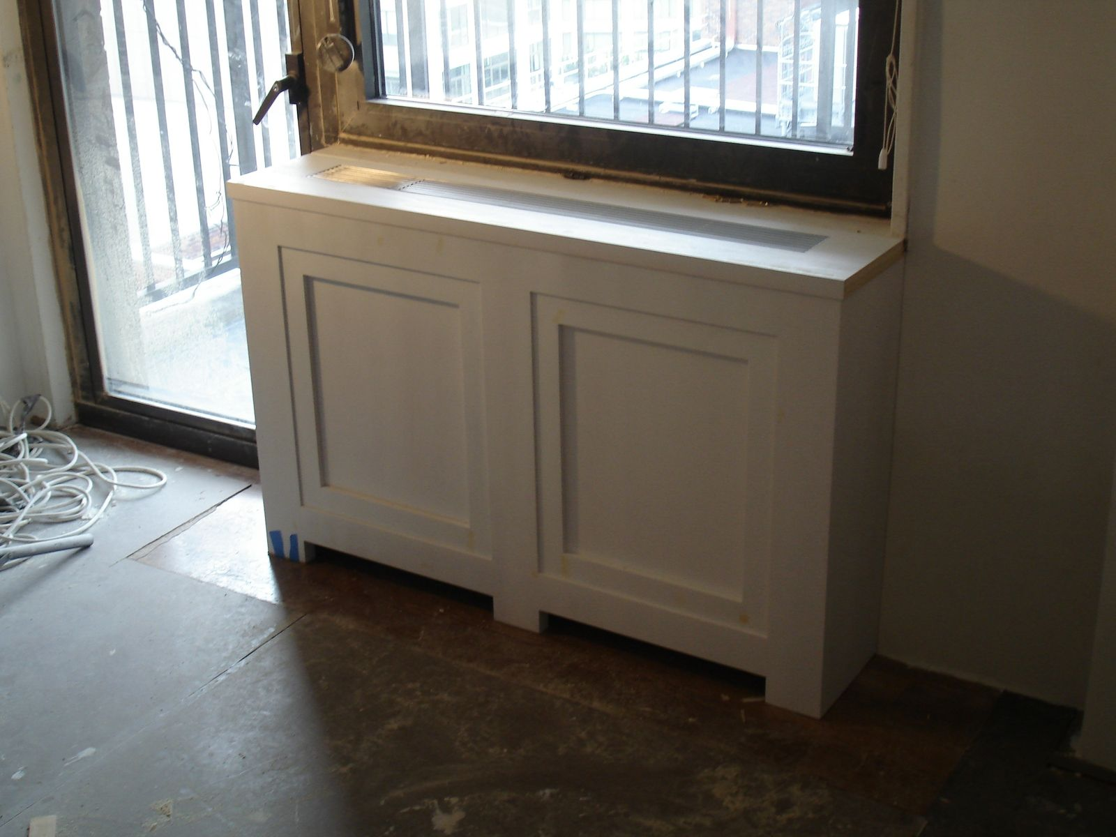 Custom Made Radiator Cover By Boerum Hill Joinery