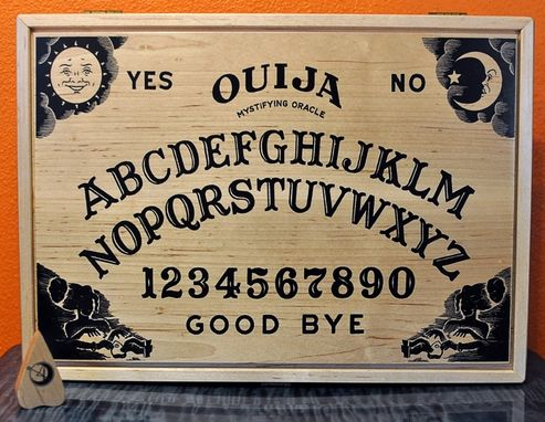 Custom Made Ouija Board Ipad Case