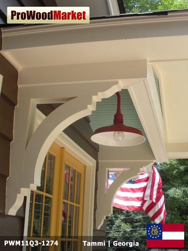 Custom friends family portico by pro wood market for House friend door