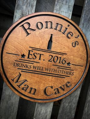 Custom Made Man Cave Sign