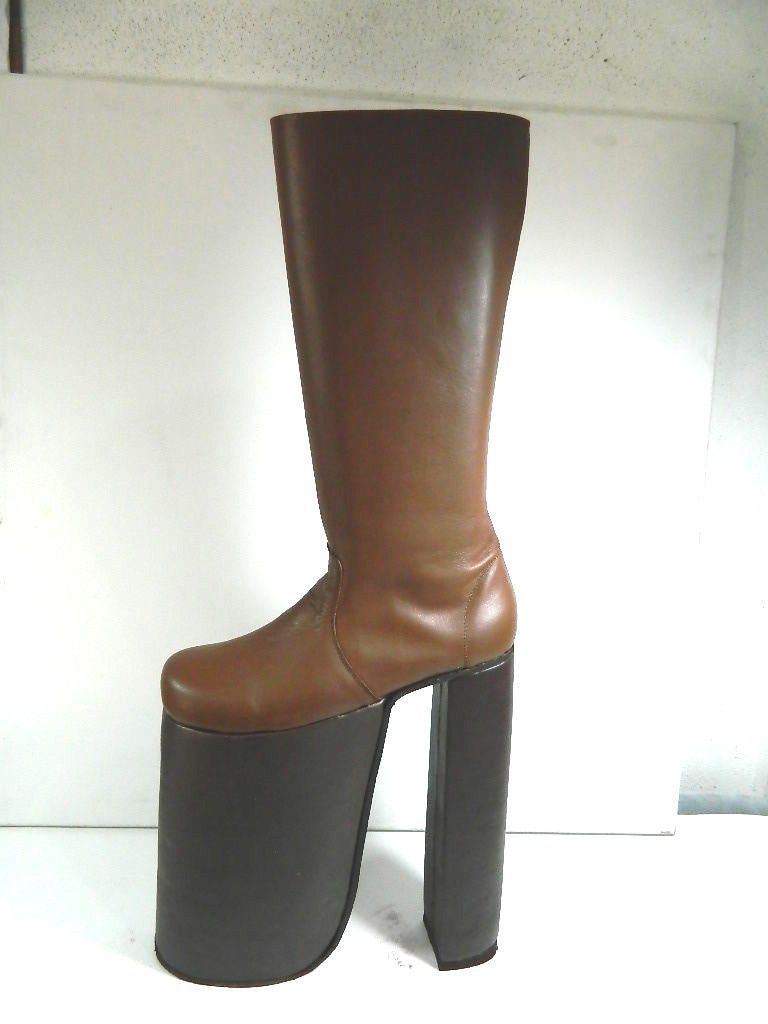0eae398ece771 Hand Made Glam 70s Rock 12 Inches Platform Glam Boots This Is High ...