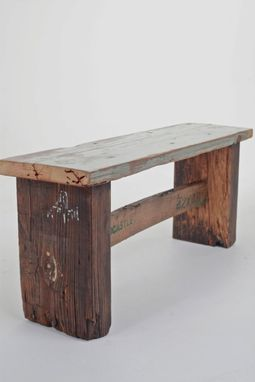 Custom Made Farm Bench