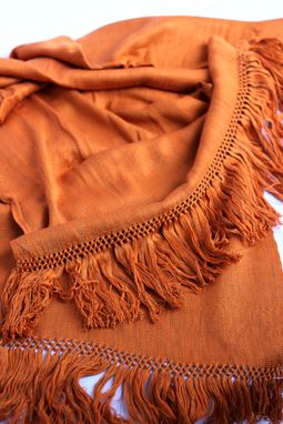 Custom Made Handwoven Rayon Shawl