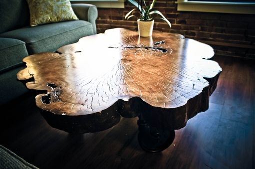 Custom Made Live Edge Coffee Table Made From 5