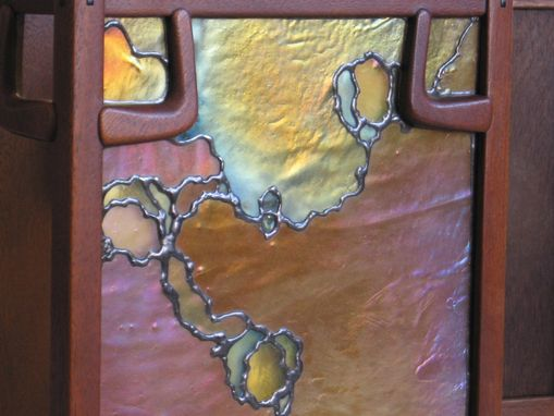 Custom Stained Glass Greene Amp Greene Wall Sconce By Hamm