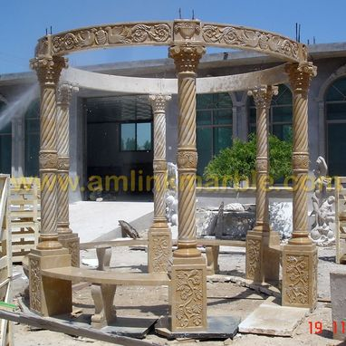 Custom Made Limestone Gazebo