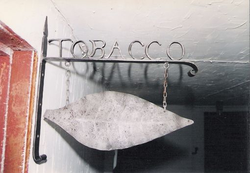 Custom Made Tobacco Sign