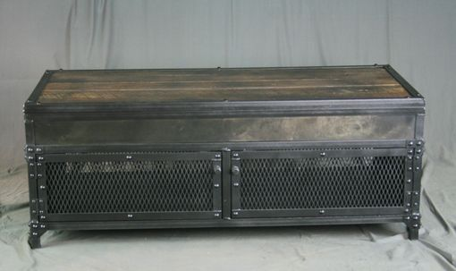 Buy A Hand Made Vintage Industrial Lift Top Coffee Table