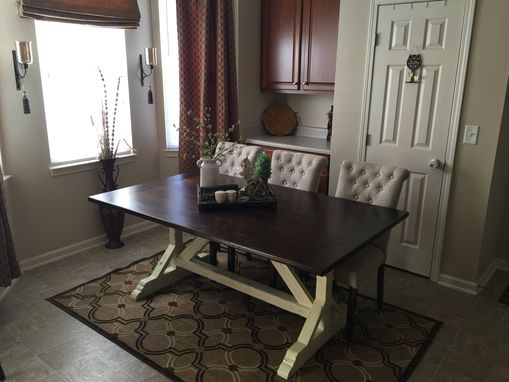Custom Made Traditional Farmhouse Table