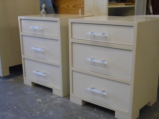 Custom Made Custom Dresser And Nightstand