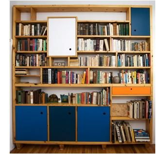 Custom Made Arts And Crafts Bookshelf
