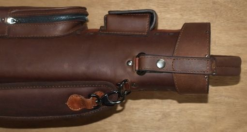 Custom Made Wolf Leather Poolstick Case