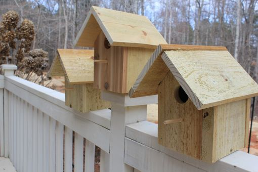Custom Made Rustic Cedar Bird House