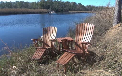 Custom Made 'Comfy-Rondack' Adirondack Chair