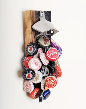 Custom Made Magnetic Bottle Opener - The Wild Horse