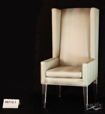 Custom Made Acrylic Leg Dining Chairs