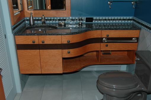 Custom Made Curved Vanity