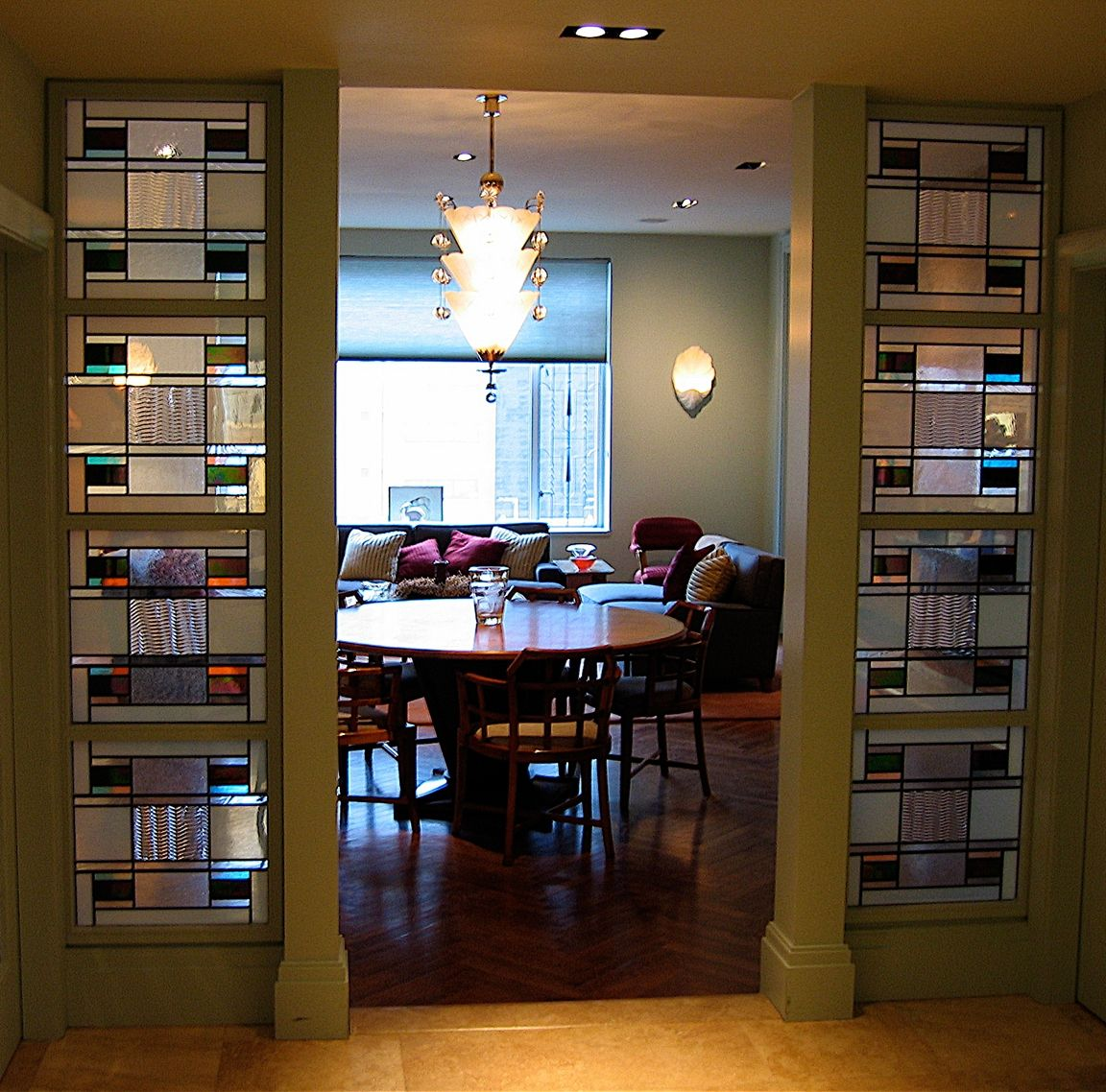 Custom Made New York City Apartment Room Dividers And Doors