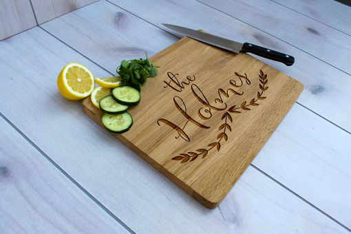 Custom Made Personalized Cutting Board, Engraved Cutting Board, Custom Wedding Gift – Cb-Wo- Theholmes