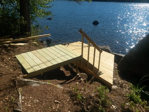 Custom Made Deck For Boat And Sun.