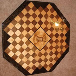 Matthew white delta black custom woodworking billerica ma - Chess board display case ...