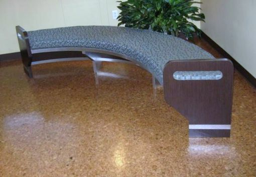 Custom Made Curved Bench