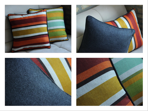 Custom Made Upholstery, Decorative Pillows