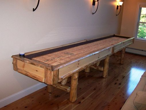 Custom Made Rustic Shuffleboard
