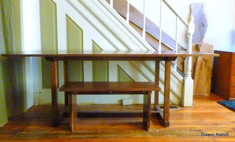 Desk Dining Table Mid Century Modern
