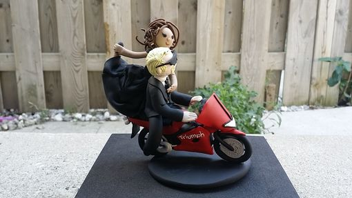 Custom Made Cute Motorcycle Topper