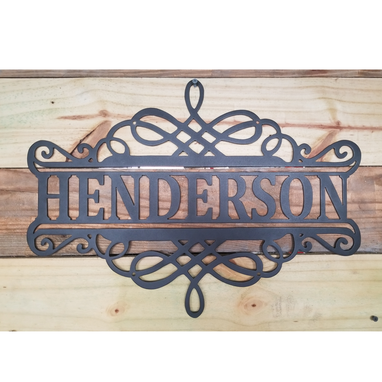 Custom Made Name Sign
