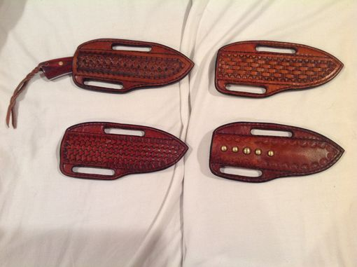 Custom Made Custom Handcrafted Knife Sheaths
