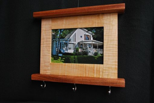 Custom Made Picture Frame Key Holder