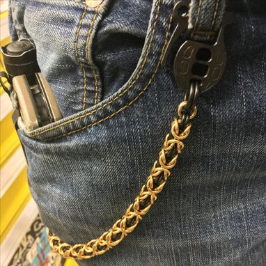 Custom Made Grenedier-Wallet Chain