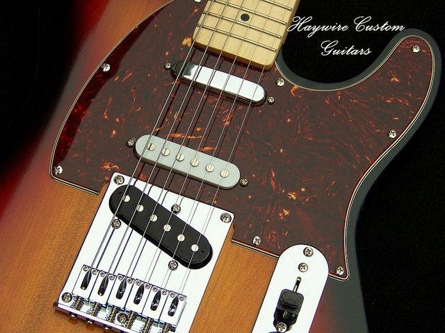 Hand Made Haywire Custom Guitars Sunburst Nashville