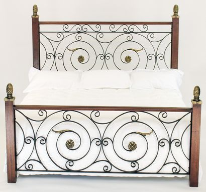 Custom Made Classico Wrought Iron Bed