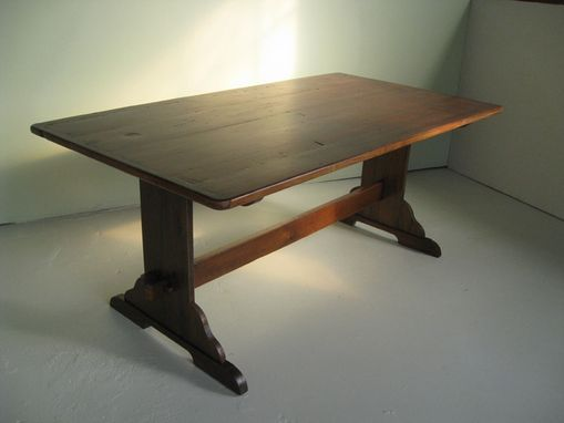 Custom Made Original Style Trestle Dining Table