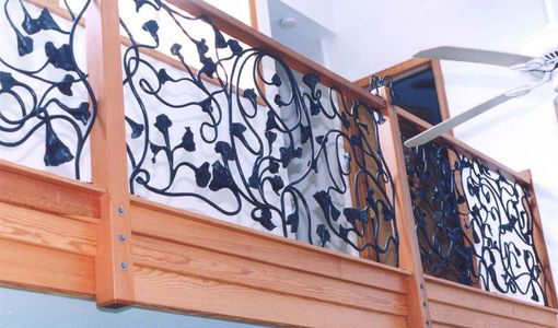 Custom Made Gingko Railing