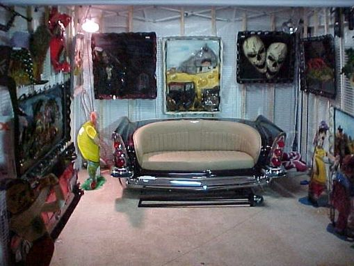 Handmade Unique Custom Car Furniture By Southwest Rod And