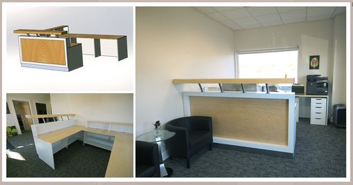 Custom Made Reception Desk