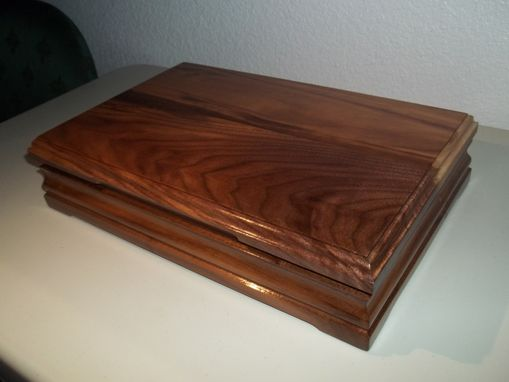Custom Made Jewelry Box Table Top Size