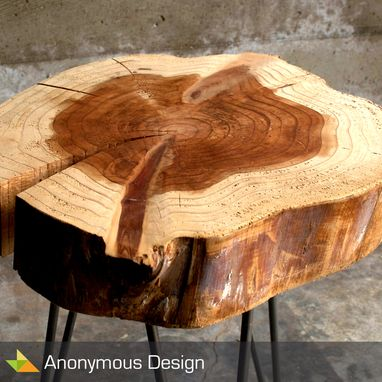 Custom Made Redwood Table