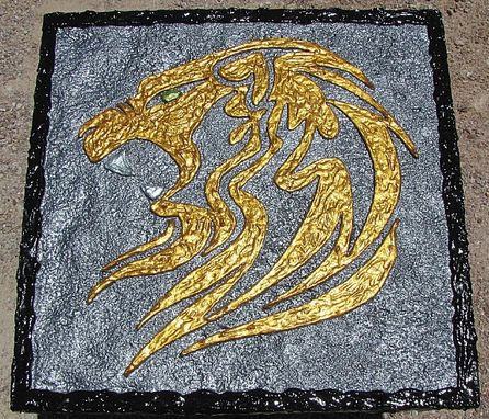 Custom Made Celtic Lion 3d Wall Art