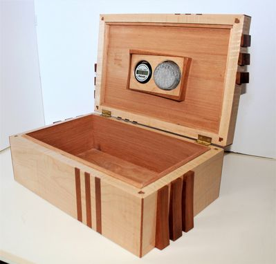 Custom Made Tiger Maple Humidor