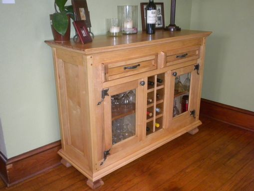 Custom Made Wine Buffet Cabinet