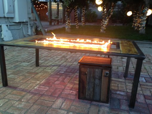 Custom Made Fire Table